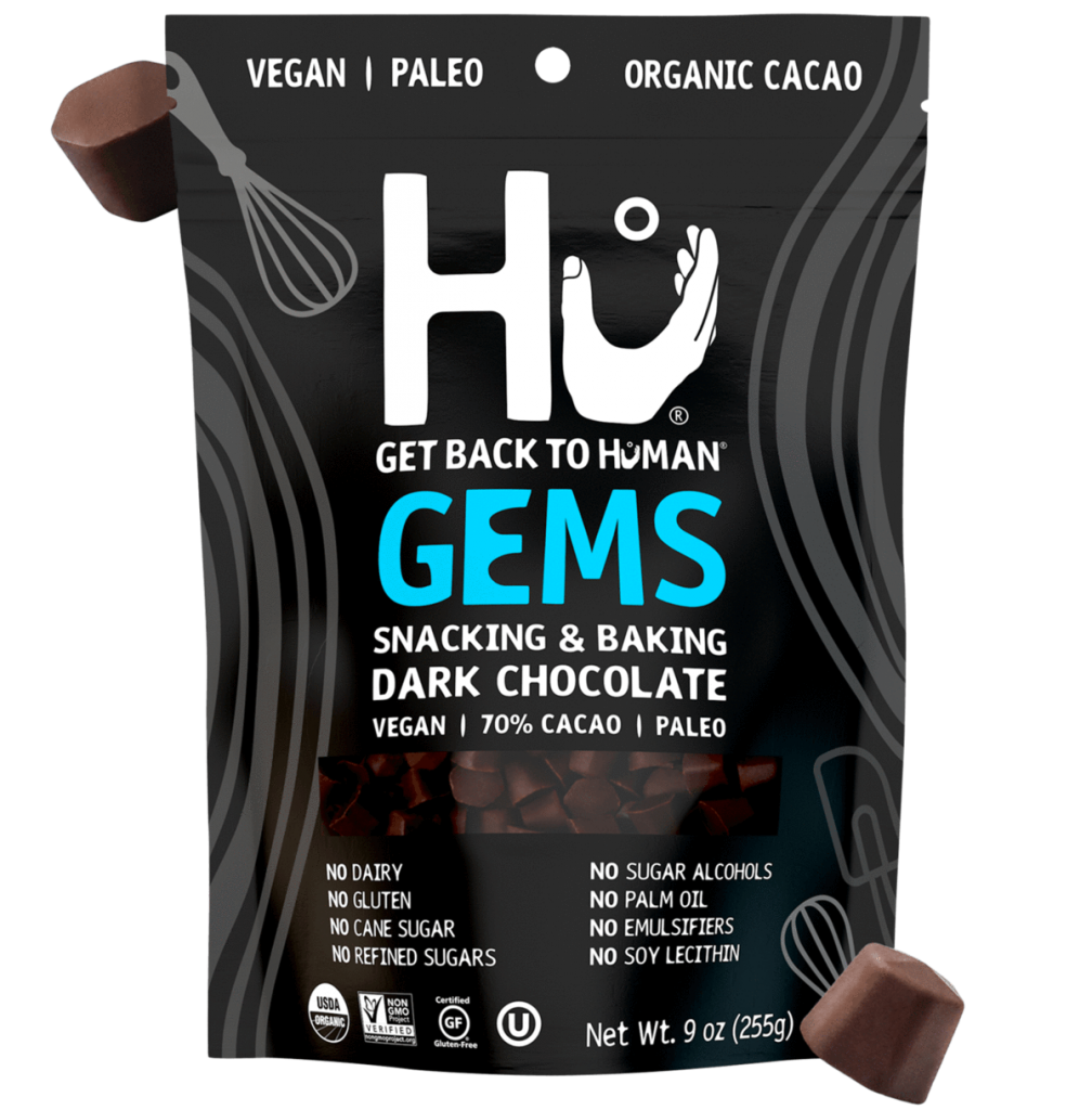Hu Gems Baking Chocolate Vegan Snacks